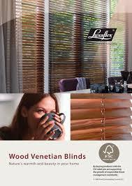 wood venetian blinds luxaflex pdf catalogues documentation
