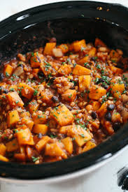 cuisine butternut cooker butternut squash and farro chili eat yourself
