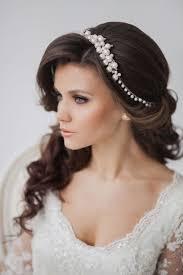 Hochsteckfrisurenen Hochzeit Lange Haare by Die Besten 25 Hochzeitsfrisuren Offene Haare Ideen Auf