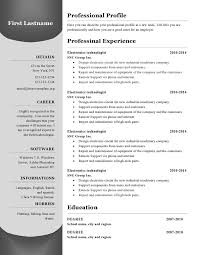 free of resume format in ms word cv resume format ms word free cv resume template 385 page0001