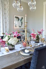 a rustic elegant thanksgiving home chairs and gray