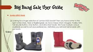 jumbo ugg boots sale big sale user guide
