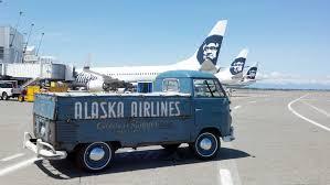 vintage volkswagen truck 1960 volkswagen truck back in service for alaska air seattlepi com