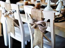 wedding chair bows burlap chair bows by madeinburlap on etsy the merry