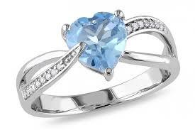 light blue rings images Ice 005 ct diamond tw and 1 13 ct tgw sky blue topaz 10k white jpg
