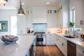 Coastal Kitchens - white coastal kitchen featuring inset cabinetry waterview kitchens