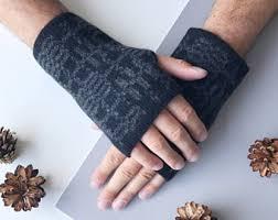 mens wrist warmers etsy