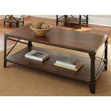 wood metal end table popular of wood and metal coffee table distressed wood coffee table