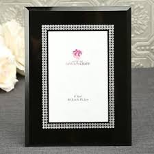 silver frames for wedding table numbers 24 black glass with silver or table number frames wedding shower