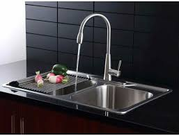 metal kitchen sink and cabinet combo afa solid stainless all in one 33 in sink and semi pro faucet combo af1rh33229te