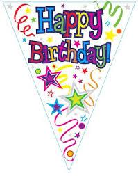 birthday ribbons birthday bunting birthday falgs birthday decorations flags to buy
