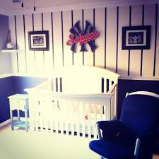 Baseball Nursery Bedding Sets by New York Yankees Nursery For Baby Boy Would Do It A Little