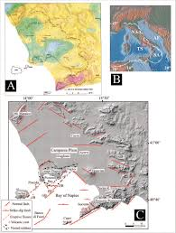 Ischia Italy Map by Extensional Tectonics In The Campania Volcanic Zone Eastern
