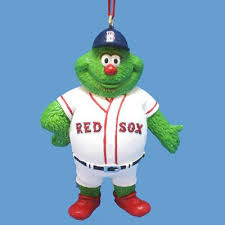 boston sox mascot wally ornament