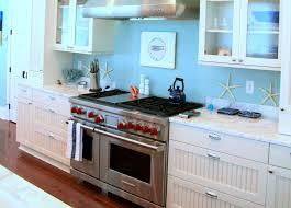 coastal kitchen design with modern space saving design coastal