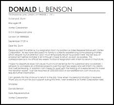 resignation letter with intent to return livecareer