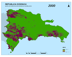 Mexico Precipitation Map by Severe Precipitation Deficit In Dominican Republic January To