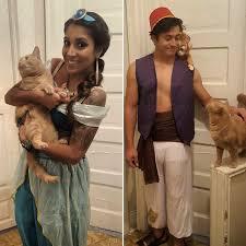 Alladin Halloween Costume Jasmin Aladdin Abu Rajah Halloween Costumes