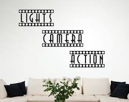 Theatre Room Decor Home Theater Decor Etsy
