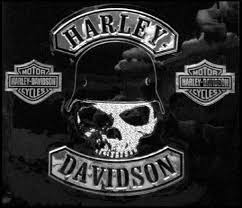 harley davidson spike decal with skull graphics dc786062
