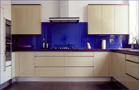glass backsplashes for kitchen kitchen awesome blue glass backsplash in small kitchen with sweet