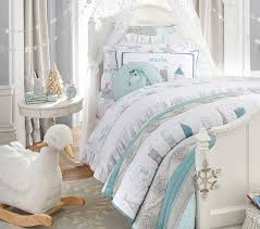 Juliette Bed Pottery Barn Starla Ice Castle Quilted Bedding Pottery Barn Kids Luca Belle