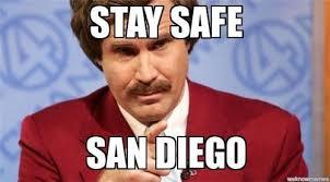 San Diego Meme - brush fires erupt amid heat wave
