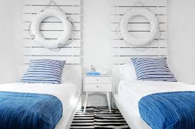 themed headboards kids striped headboard traditional boy s room goforth