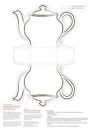 teapot template free teapot template printable cards pinterest