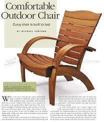 Patio Furniture Plans by Garden Chair Plans U2022 Woodarchivist