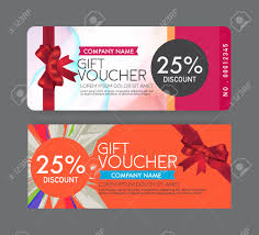 gift card discount gift voucher template royalty free cliparts vectors and stock