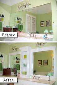Large Mirrored Bathroom Wall Cabinets Wall Mirrors To An Otherwise Boring Bathroom Mirror Wall Mounted