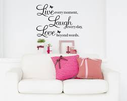 live laugh love home decor wall decal quotes s5q diy live laugh love quote vinyl decal