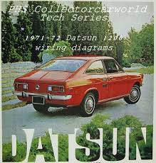 phs tech series 1971 72 datsun 1200 wiring diagrams