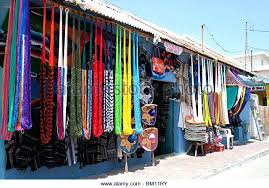 hammock from mexico hammocks hang outside a store in the town on