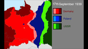 Map Of Germany And Poland by The Invasion Of Poland Youtube