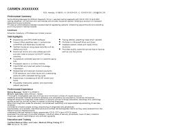 Resume Examples For Medical Billing And Coding by Beautiful Billing And Coding Resume Photos Simple Resume Office