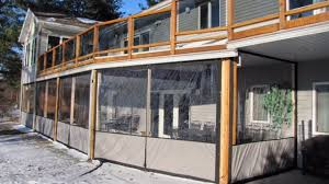clear vinyl plastic enclosures for porch u0026 patio clear plastic