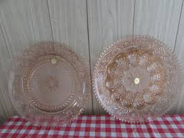 glass deviled egg plate lot detail vintage to find pink tiara sandwhich glass