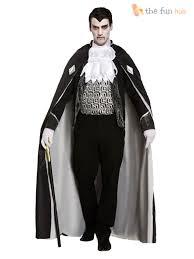 mens ladies vampire costumes gothic dracula couples halloween