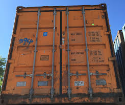 door sample wind water tight 20 u0027 containers railbox consulting