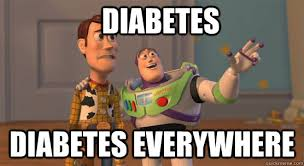 Diabetes Memes - diabetes diabetes everywhere toy story everywhere quickmeme
