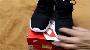 Nike Tanjun Black nike tanjun black white unboxing on