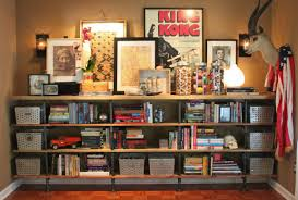 Shelving Furniture Living Room by How To Build Plumbing Pipe Shelves The Cavender Diary