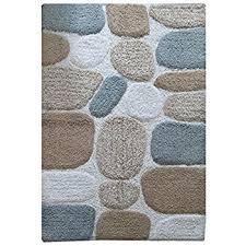 27 X 45 Bath Rug Amazon Com Chesapeake Merchandising Pebbles Cotton 24 In X 60 In