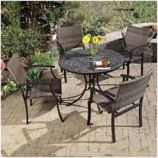 7 Piece Aluminum Patio Dining Set - furniture outdoor dining sets for 8 with umbrella home styles