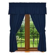 Blue Window Curtains Clara Clark 5 Window Curtain Cozy Array