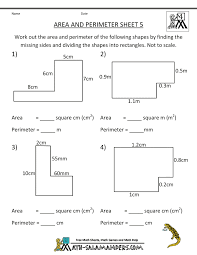 pictures on free printable area and perimeter worksheets bridal