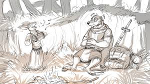 lord brocktree and dotti by temiree on deviantart