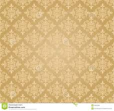 seamless golden floral wallpaper pattern stock photo image 29930890